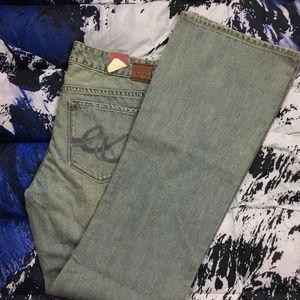 NWT Express X2 Slim Low Rise Denim Jeans Size 10